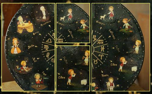 Картинки для декупаж зодиак