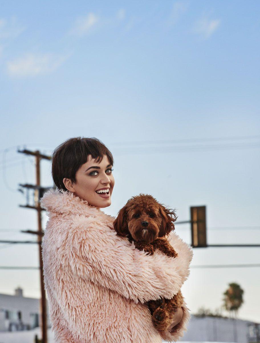 Американская певица и актриса Кэти Пэрри в журнале Vogue