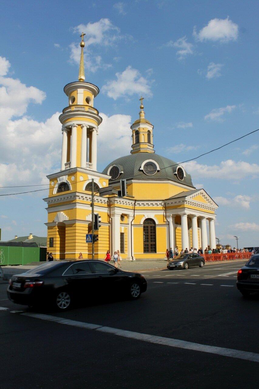 церковь почтовая площадь киев