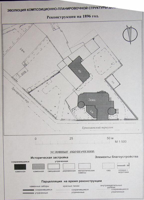 Шехтель. Посольство Уругвая (резиденция) Ермолаевский пер, 28