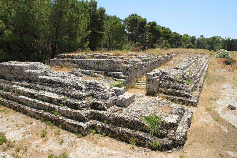 Сицилия, Сиракузы,АрхеологическийпаркНеаполис