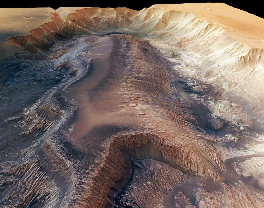 Долина Маринера. Марс. Солнечная система
