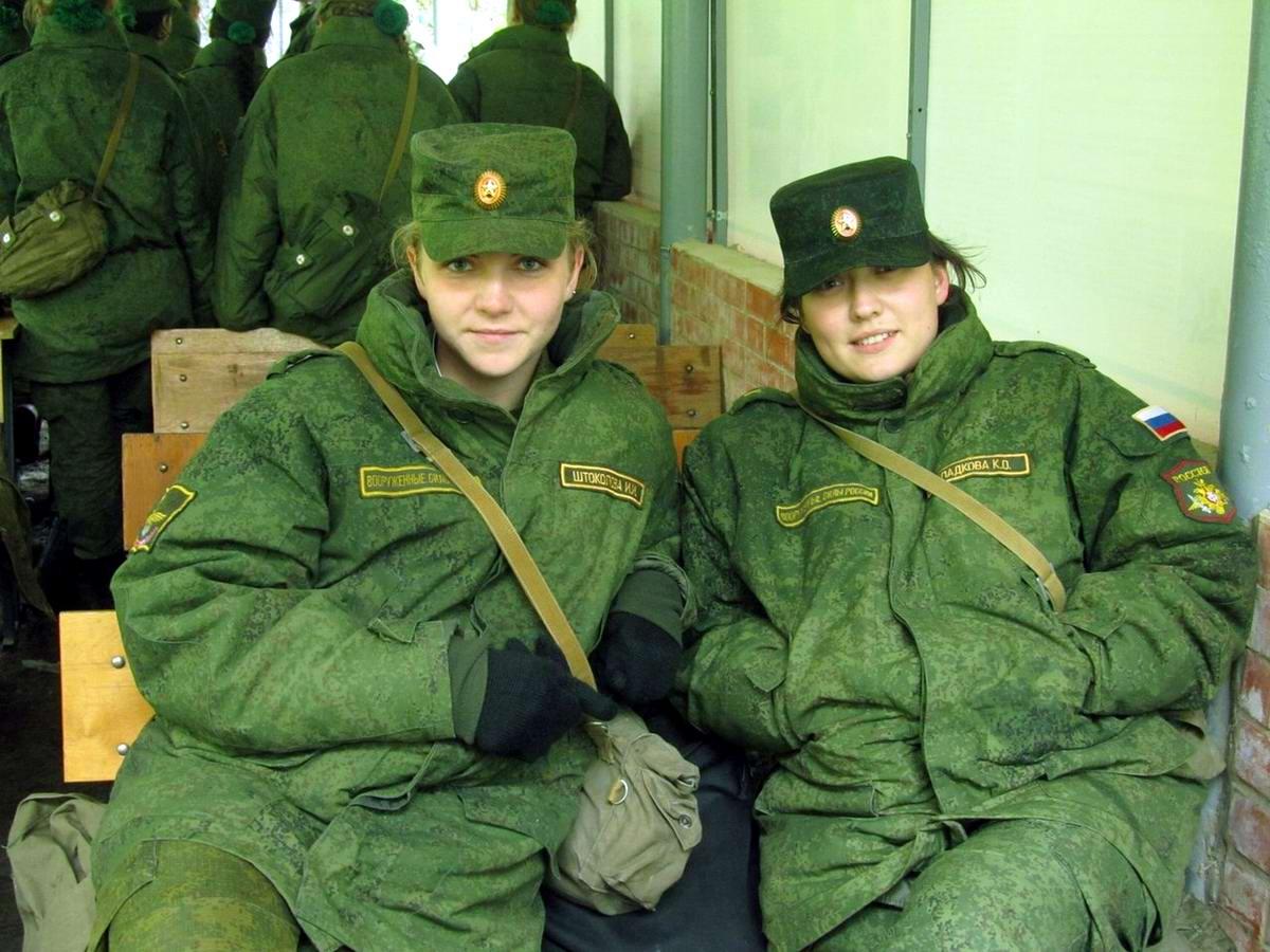 От тайги до британских морей ... : Лица девушек из Российской армии (15)