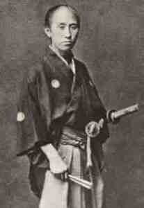 Окита Содзи один из офицеров Синсэнгуми.