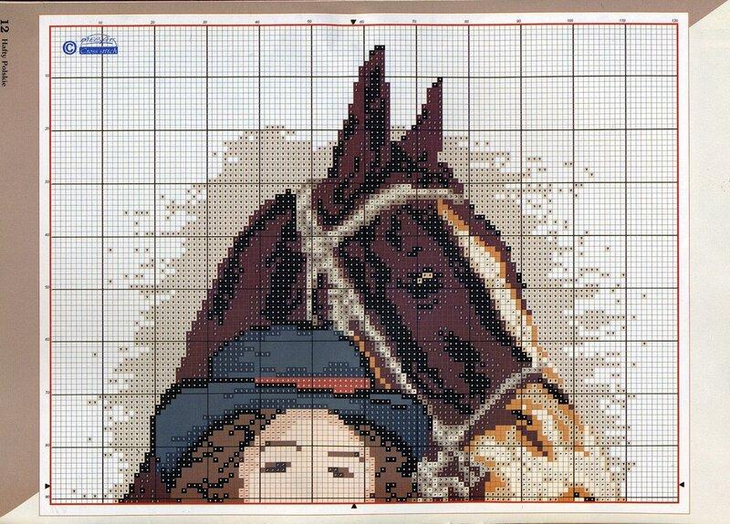 вышивка крестом (схемы вышивки для ознакомления)/люди. животные.  Четверг, 23 Мая 2013 г. 10:53.
