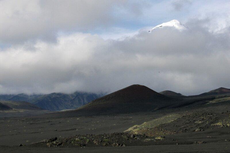 Вершина Острого Толбачика, Камчатка