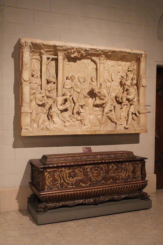 Поклонение волхвов и кассоне