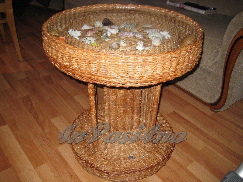 Мебель из газетных трубочек своими руками фото 48