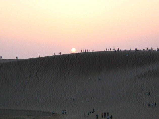 Дюны Тоттори. Япония