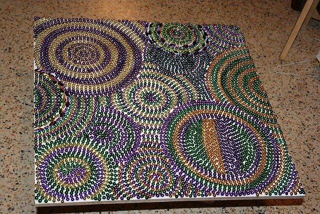 Фото поделок и мастер класс как сделать мозаику с бисером