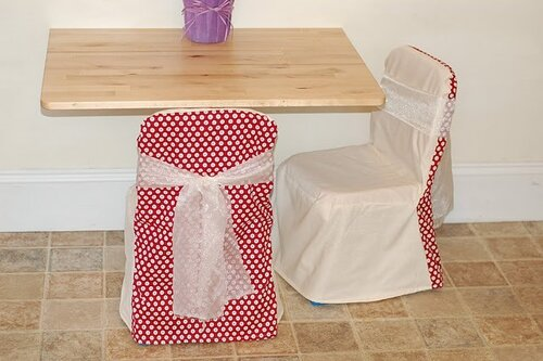 Чехол из ткани для детского стула