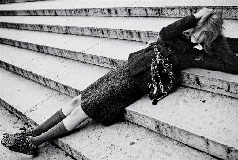 модель Тарин Дэвидсон / Taryn Davidson, фотограф Txema Yeste