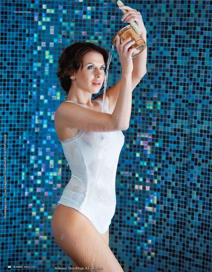 Синтия Артимовица / Sintija Artimovica in Playboy Latvia may 2011