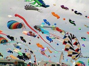 Во Владивостоке на Шаморе в небо взлетят воздушные змеи