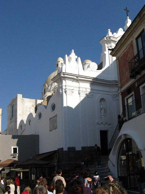 Капри. Церковь Святого Стефана (chiesa di Santo Stefano)