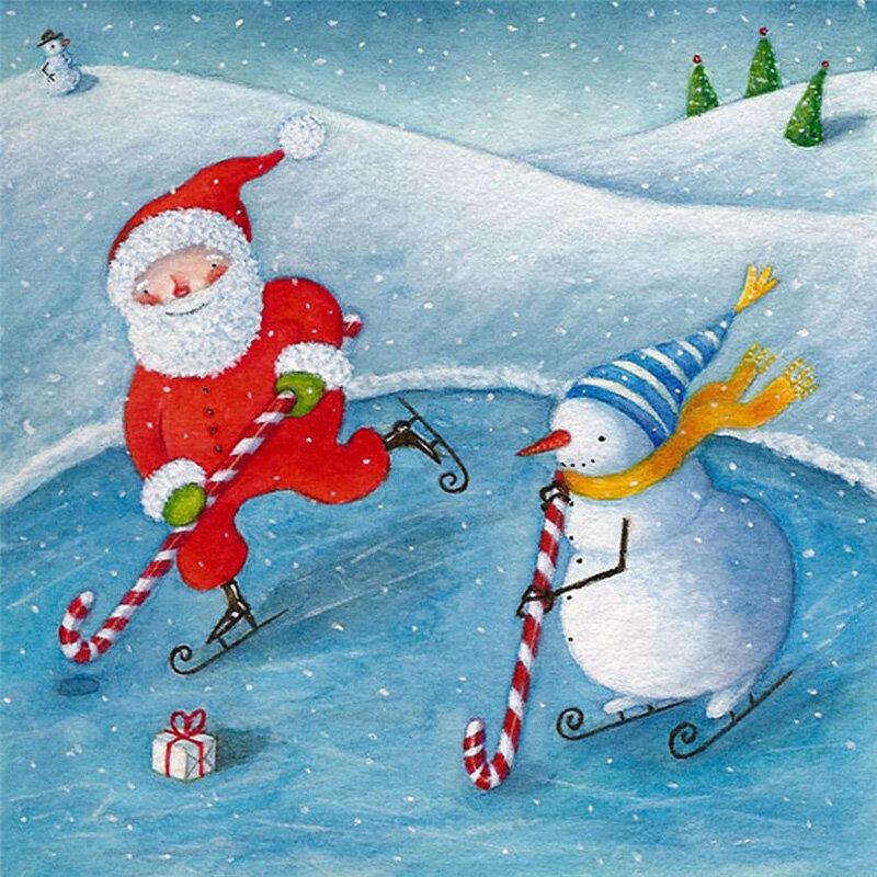 хоккей картинки снеговик вам