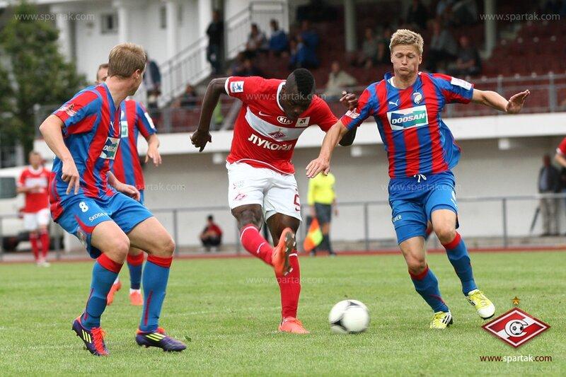 «Спартак» vs «Виктория» (Пльзень) 2:1 контрольный матч 2012 (Фото)