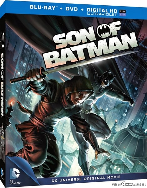 Сын Бэтмена / Son of Batman (2014/BDRip/HDRip)