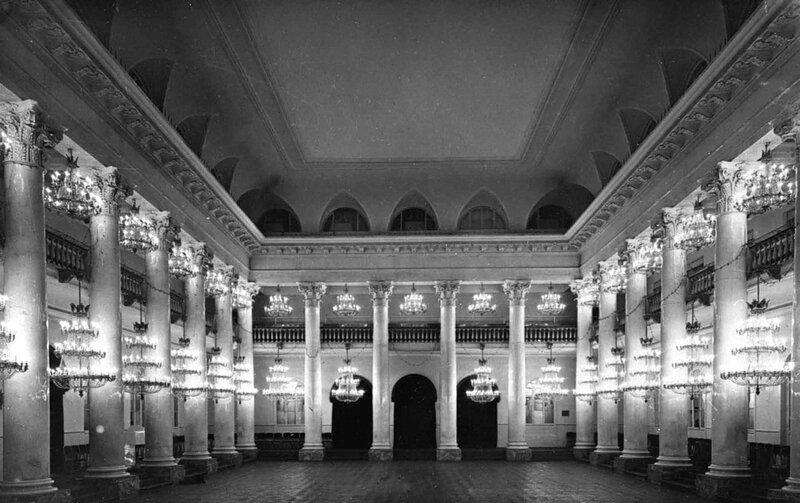 ...института составил его генеральный план, строил рекреационный и гимнастический залы при главном корпусе.
