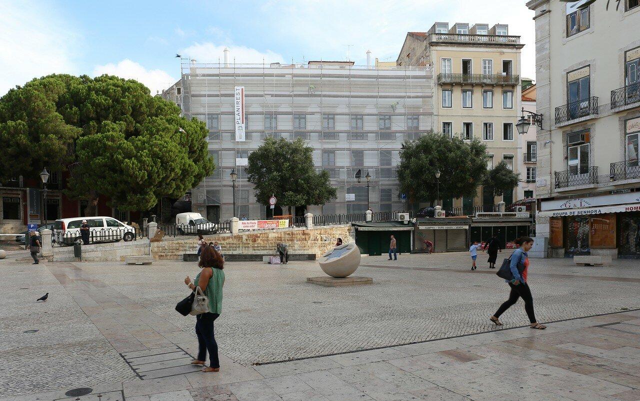 Lisbon. St. Dominic's Square (Largo São Domingos)