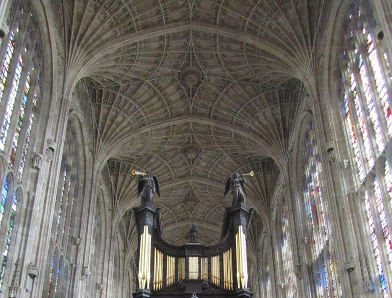 капелла Королевского колледжа в Кембридже