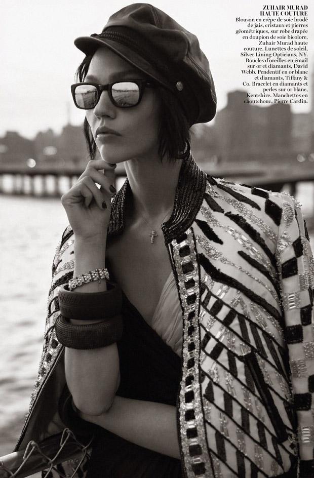 Саша Пивоварова (Sasha Pivovarova) в журнале Vogue Paris (11 фото)