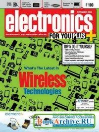 Книга Electronics For You №11 (November 2014)