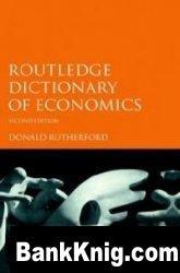Книга Routledge Dictionary of Economics