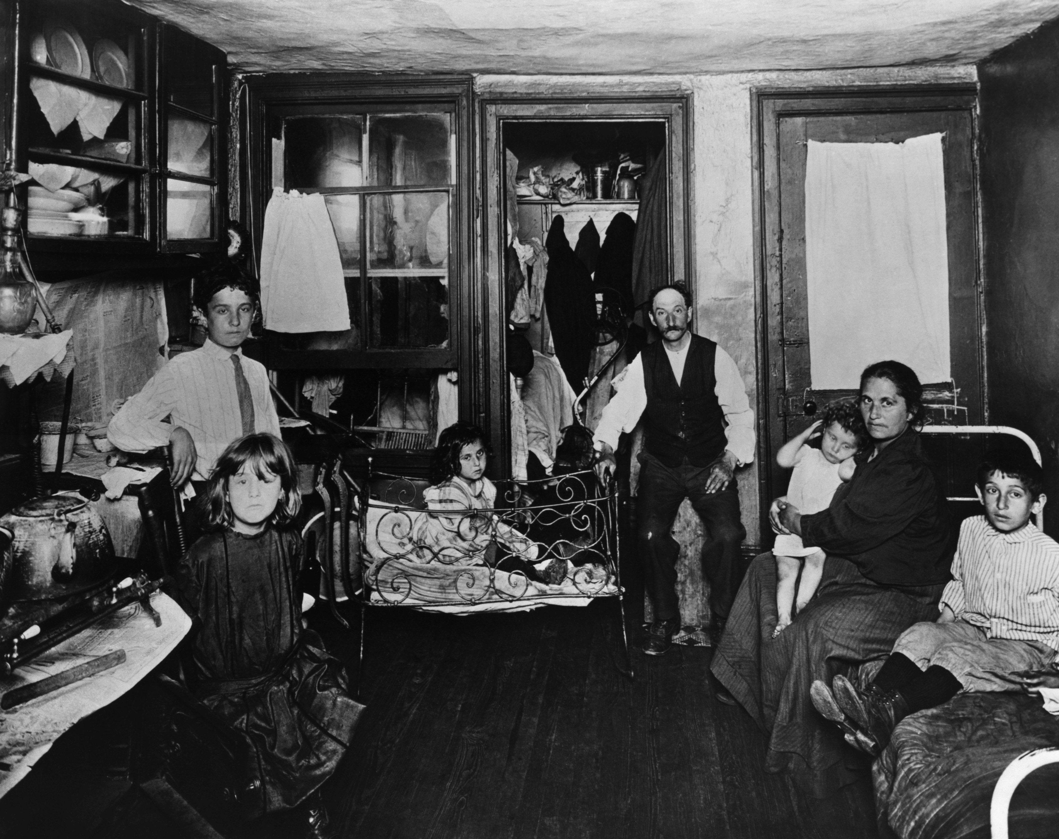 Life in New York Tenements During the 1890s