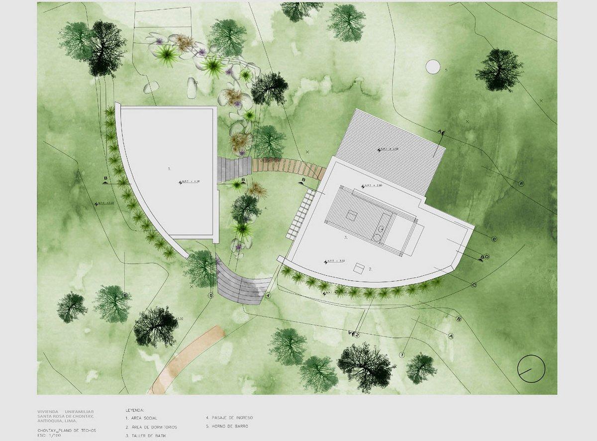 Marina Vella Arquitectos, частные дома в перу, тростник в интерьере, дом в тропиках, дом с видом на горы, ландшафтный дизайн участка дома