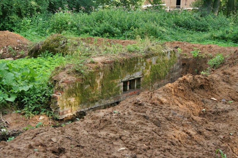 Батюшково, Руины усадьбы