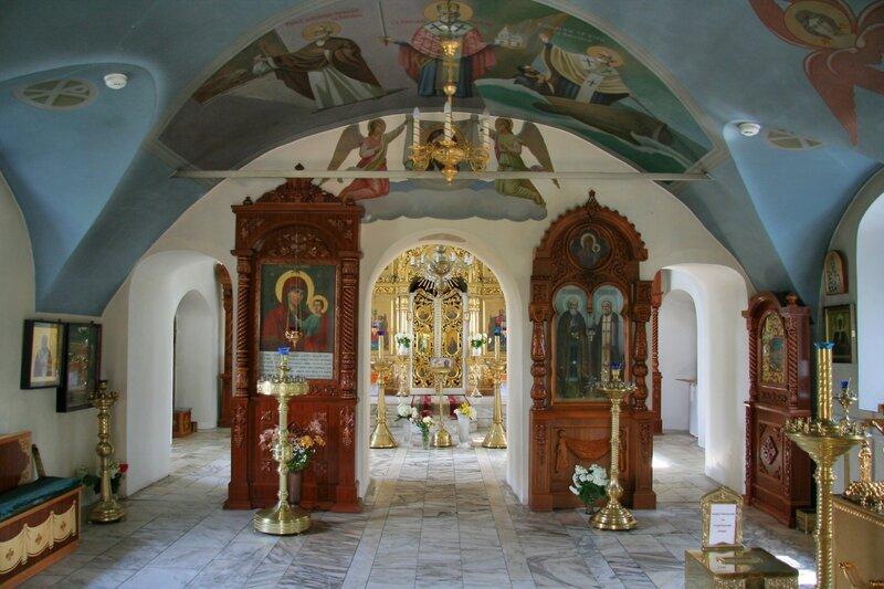 Рождественно-Суворово, Внутреннее убранство церкви Рождества Пресвятой Богородицы