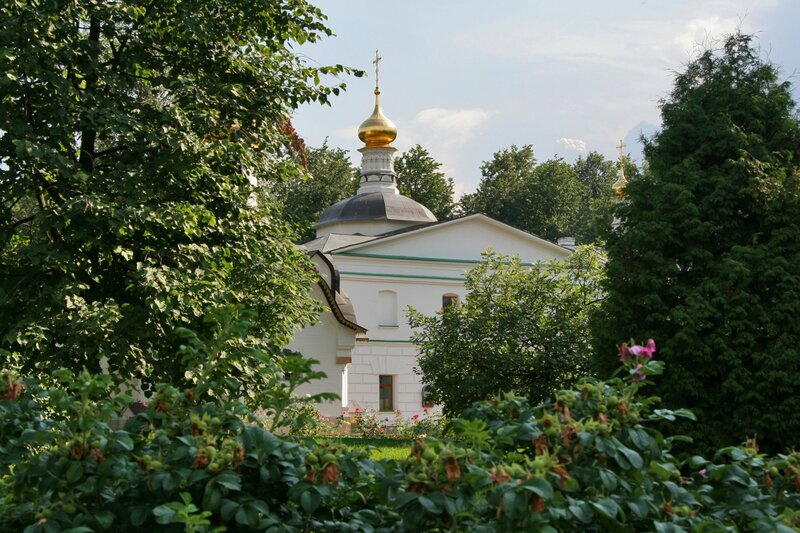 Дмитров, Борисоглебский монастырь, Церковь Николая Чудотворца