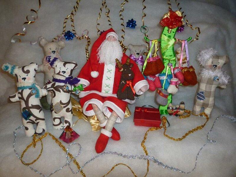 Санта в гостях