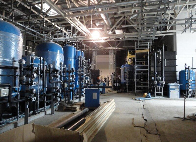 Очистка сточных вод машиностроительного завода.