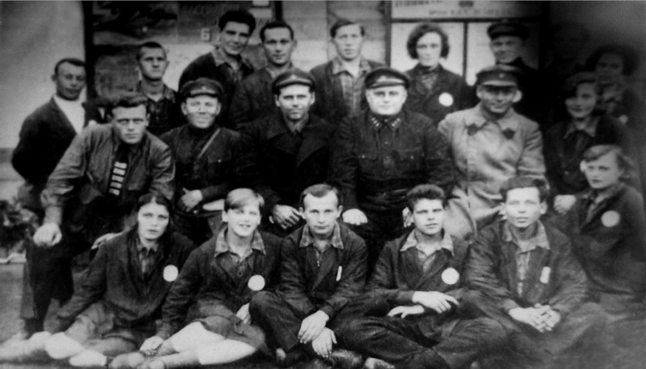 Агитбригада Бамлага. Фото 1933