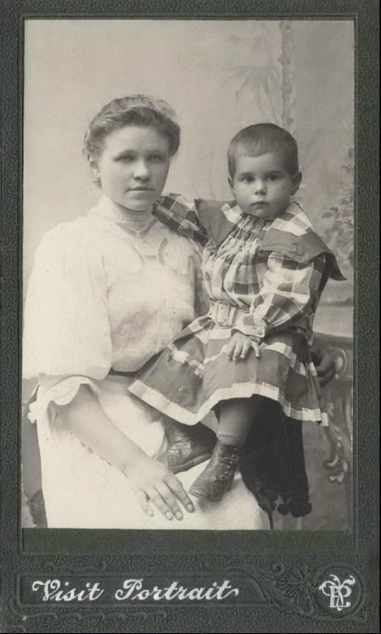 1909. Няня Дуня. Териоки. Дача купца Семенова С.Т.