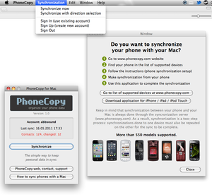 «PhoneCopy for Mac OS»