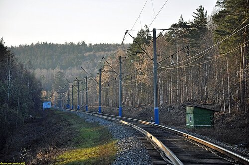вид в сторону станции СЕРМЕНЕВО