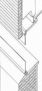 Дом Германа Ланге в Крефельде, архитектор Мис ван дер Роэ, Конструктивный узел