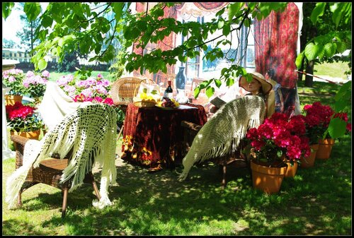 Санкт-Петербург. Михайловский сад. 1 июня 2011