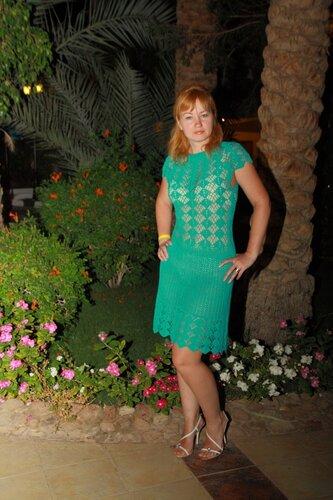 Вязаное платье от кайли