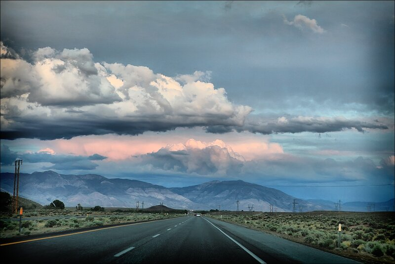 Закат над Невадой