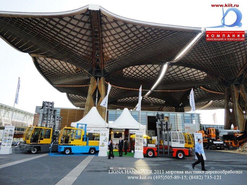 Стенд компании BAUMANN на выставке LIGNA NANNOVER 2011