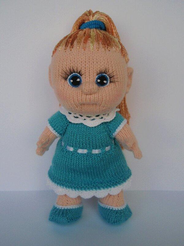 Форум почитателей амигуруми (вязаной игрушки) - Галерея - Просматривает изображение - Девочка.