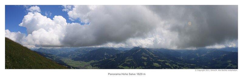 Вид с горы Hohe Salve 1829 m