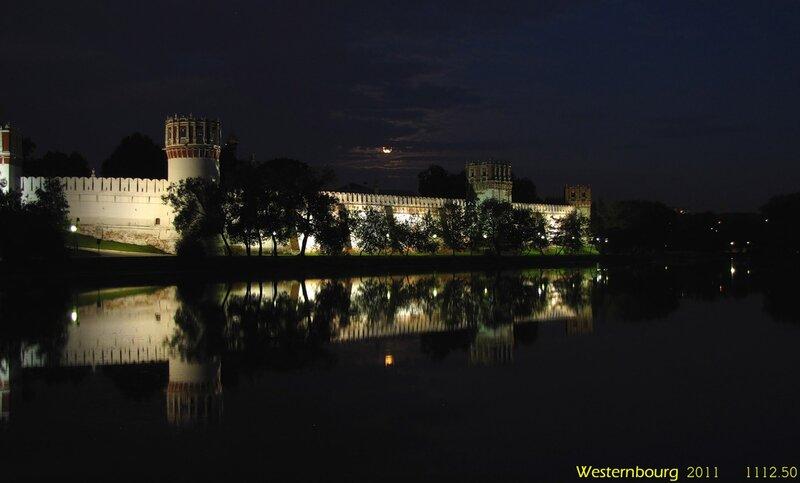 1112.50 Новодевичий монастырь и Луна