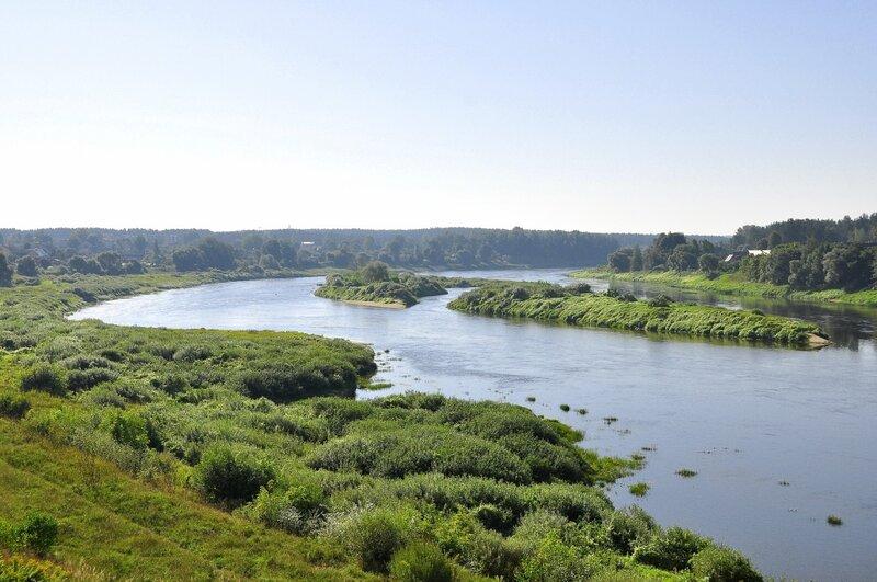 ЛАТВИЯ. Река Даугава
