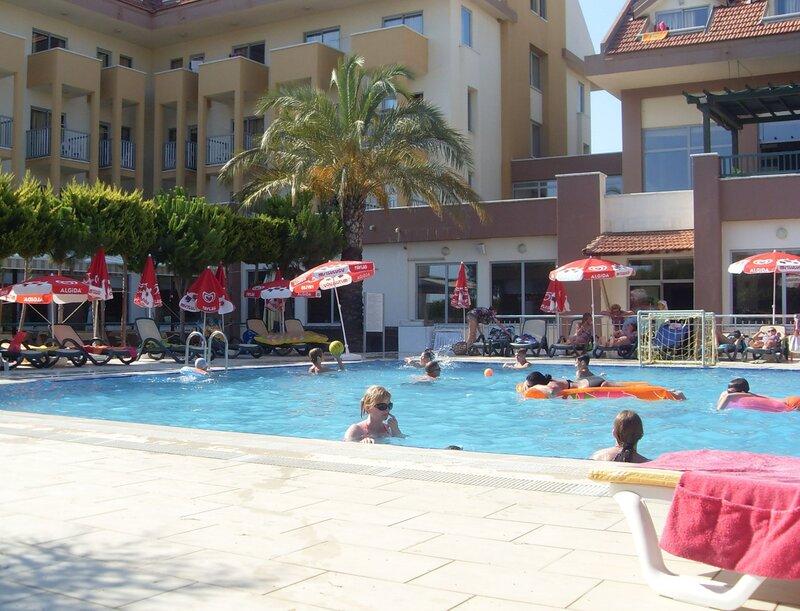 Бассейн отеля Seher Sun Beach 4* (Сиде, Турция)