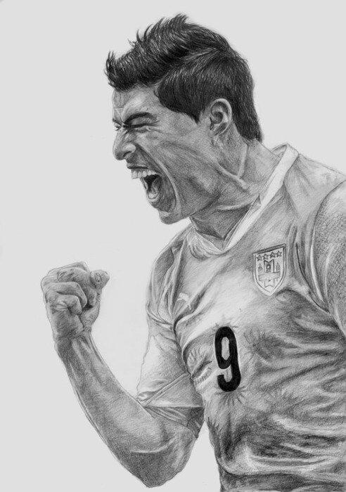 Прикольные рисунки футболистов карандашом, добрым утром моя